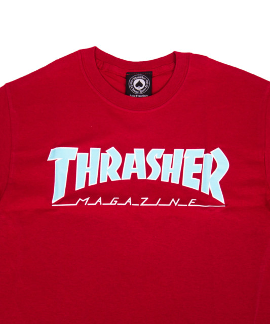 T-shirt Thrasher Outlined Cardinal
