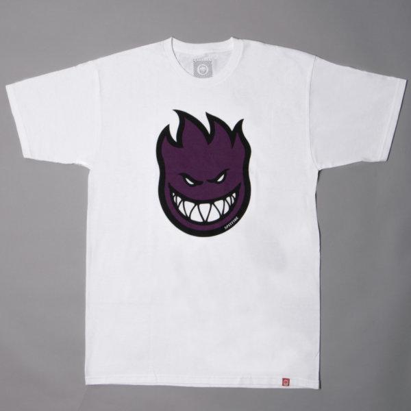 T-shirt Spitfire Bighead Fill White Purple